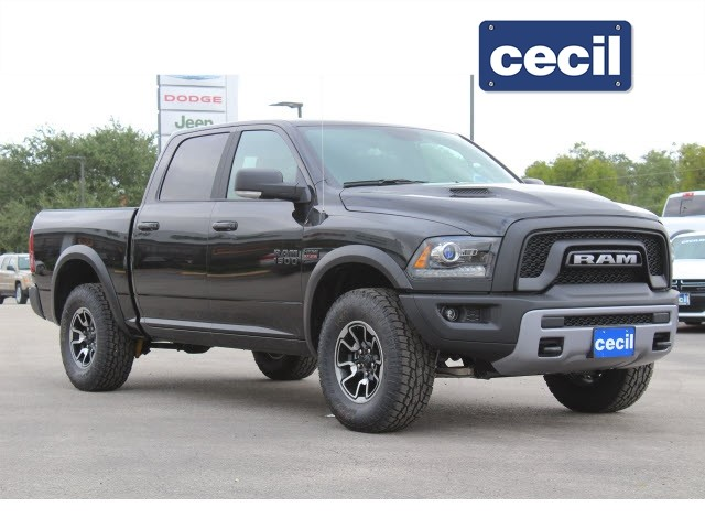 2018 Dodge Rebel >> New 2018 Ram 1500 Rebel Crew Cab In Uvalde S121697 Cecil