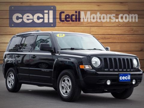 Pre-Owned 2017 Jeep Patriot