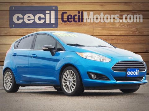 Pre-Owned 2016 Ford Fiesta Titanium